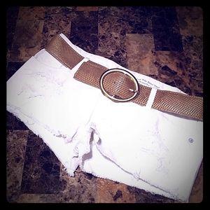 Short and Belt